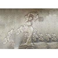 Fairy Bronze Relief Sculpture Ancient Style Metal Wall Art Corrosion Stability
