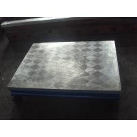 China Professional Cast Iron Surface Plate  Manual Lapping Hand Scrap Surface Finish on sale