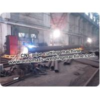 Quality Pipe Profile CNC Cutting Machine With Hyperther Plasma Cource Or Flame for sale