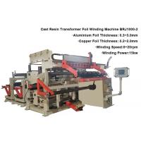 China Programmable Dry Type Transformer Winder Machine Foil Width 1000mm 0.8m / Min Speed for sale