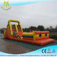 Quality Hansel recycled playground equipment,obstacle sport game indoor and outdoor for sale
