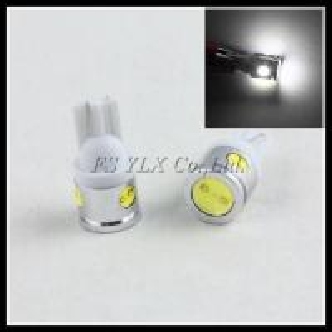China T10 194 168 501 LED bulb High power 2.5W COB W5W LED Width light Bulb Backup Lamp on sale