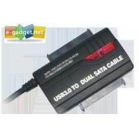 Quality Superspeed USB3.0 to Dual SATA Adapter for sale