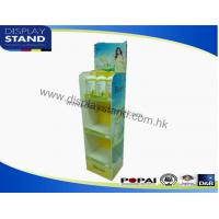 Quality Acrylic POP Display Stands for Shampoo , Strong Cosmetic Display with Full Color Prining to Retail for sale