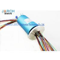 China Blue Hybrid Slip Rings 2 ~ 36 Circuits / Sealed Air Rotary Joint With 5A Power,Low Cost ,preferential price rotary joint on sale