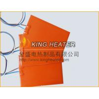 Quality silicone rubber heater with K type thermocouple for sale