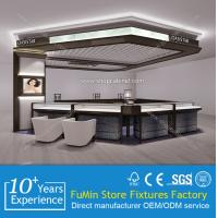 Buy Customized unique glass wall jewelry display showcase for mall at wholesale prices