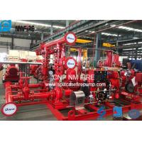 Quality Skid Mounted Firefighting System Fire Pump Set 400GPM / 135PSI NFPA20 Standard for sale