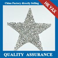 China Fashion for bags iron on patches,Shiny Star patches iron on bags,flatback iron on patches high quality on sale