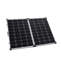 Quality High Efficiency Solar Panel Waterproof 2 x 100W Low Iron Tempered Glass for sale