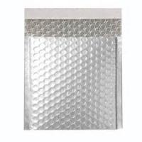 Quality Jiffy metallic air bubble silver mailing bag, self seal bubble envelopes for sale