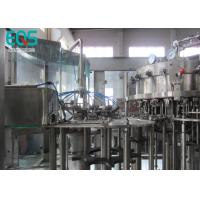 Quality 18 Rinsing Heads  Fully Automatic Carbonated Water Filling Machine CE ISO Approved for sale