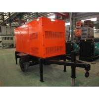 Quality Automatic 100 KVA Mobile Diesel Generator Silent Type For Emergency And Standby for sale
