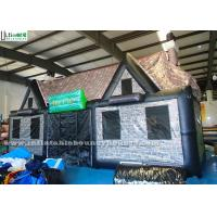 Buy cheap Durable Portable Air Inflatable Tents / Pub House Lead Free Pvc Tarpaulin from wholesalers