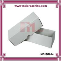 Quality 350g White Coated Paper Sunglass Box, Glossy Lamination Cardboard Paper Box ME-SG014 for sale
