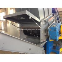 Single Shaft Shredder Machine For Waste HDPE LDPE Films PP Woven Bags for sale