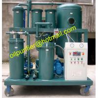 China High Water Content  Lube Oil Separation Purifier,filtration Plant,China Vacuum industrial Oil Dehydration Drying System on sale