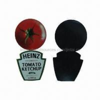 Quality Fridge magnets, made of paper and soft rubber, non-toxic for sale