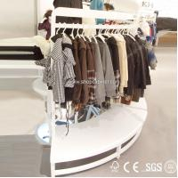 Quality Top Quality Factory Direct Price Clothes Store Wood Display Shelf for sale
