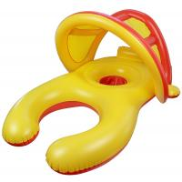 China Inflatable Baby Swimming Ring With Sun Shade Canopy / Bucket Seat 38*24*22 on sale