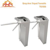 Quality Airport Access Control Equipment Waist High Turnstile Gate Security And Convenience for sale