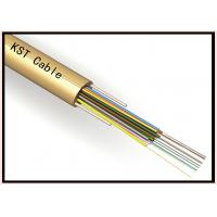 Quality Loose Tube 6 Core Unitube Fiber Optic Cable Pe Sheath , Fiber Optic Network Cable for sale