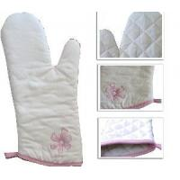 Quality Embroidery Oven Mitten (LYOM) for sale