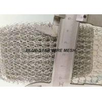 Custom Knitted Wire Mesh Tube / Tape Gasket For EMI / RFI Cable Shielding