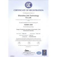 3nh color meter ISO9001 certification