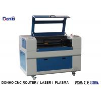 Blue Up And Download Table Fabric Laser Cutting Machine For Thick Non Metal Cutting