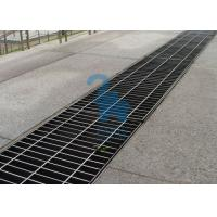 Quality Rectangular Floor Sink Grate Trench Drain Covers Stainless Steel Material for sale