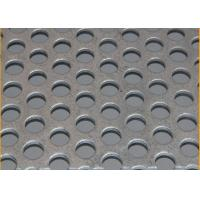 Quality Standard  8mm Pitch Stainless Steel Perforated Sheets Suppliers With  1219mm Width for sale