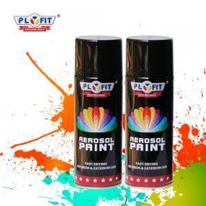 Quality Metallic Acrylic Aerosol Paint Liquid Coating State For Metal / Wood / Glass for sale