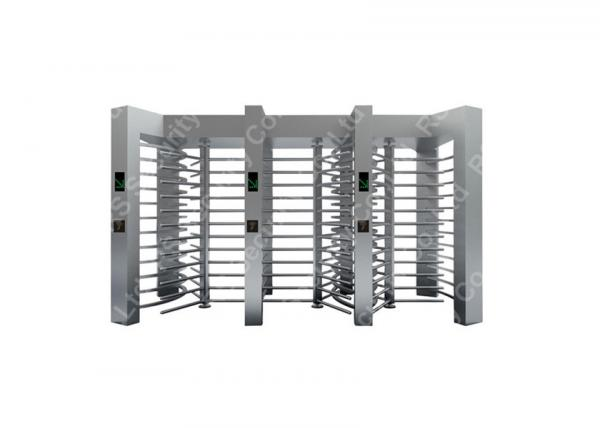 Buy Automatic B - Direction Full Height Turnstiles , Slot Reader access control turnstiles at wholesale prices
