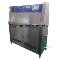 Buy Professional Environmental Test Chamber UV Lamp Tester With Automatic Sprinkler Function at wholesale prices