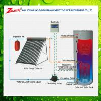Quality 200 liters pressurized split solar water heater solar water heater price for sale