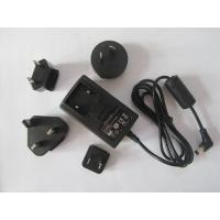 Quality 20W UL FCC CE switching power supply interchangeable AC plug adaptor from china for sale