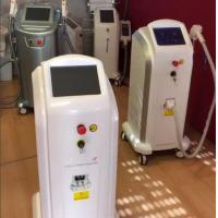 Quality Stationary 808nm Diode Laser Hair Removal Machine 1-120J/Cm2 for sale