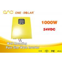 Quality Off grid Dc To Ac 1000w Solar Panel Power Inverter with CE & FCC certification one inverter for sale