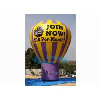 Quality Outdoor Inflatable Grand Advertising Ground Balloon For Advertisement / Parties for sale