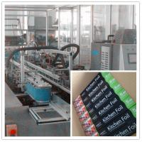Buy Automatic Box Carton Aluminium Foil Packaging Machine / production line SGS for Kitchen at wholesale prices
