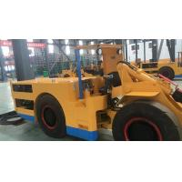 Quality 1 Cubic Meter  Electric LHD Load Haul Dump Machine For Underground Mining with Cable CE / ISO9001 for sale
