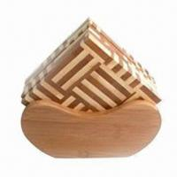 Quality Cork Coaster, Made of Bamboo for sale