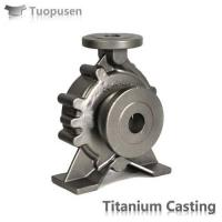 Quality China Factory Supply Gr5 Titanium Casting Parts for sale