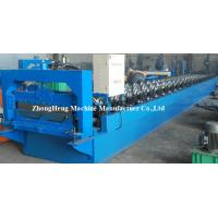 Quality 380V 3 Phases Steel Roofing Sheet seam joint Roll Forming Machine / Machinery PPGI Coated for sale