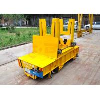 Quality PLC automatic controlturning rail ladle car for steel liquid or steel scrap for sale