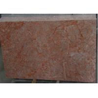 Quality Rose Red Marble Tile , Decorative Natural Agate Floor Tiles Dolomite Type for sale