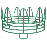 Quality SUPER DUTY 4-RING HORSE ROUND BALE FEEDER for sale