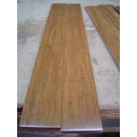 Quality Carbonized strand woven bamboo flooring with UV lacquer, harder than wood flooring for sale