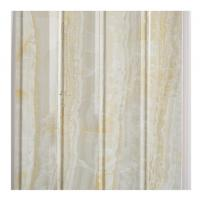 Quality Marble Design Waterproof Wood Paneling For Bathrooms Four Wave Three Groove for sale